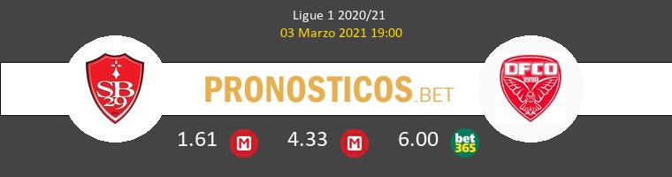 Stade Brestois vs Dijon FCO Pronostico (3 Mar 2021) 1