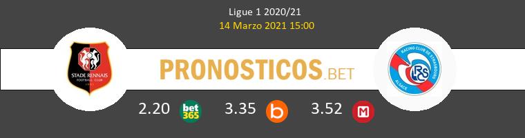 Stade Rennais vs Estrasburgo Pronostico (14 Mar 2021) 1