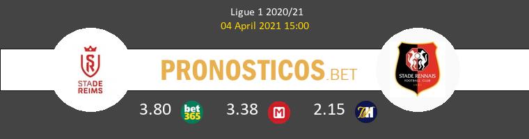 Stade de Reims vs Stade Rennais Pronostico (4 Abr 2021) 1