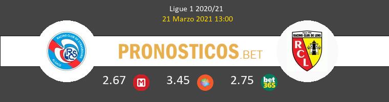 Estrasburgo vs Lens Pronostico (21 Mar 2021) 1