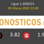 Strasbourg vs Monaco Pronostico (3 Mar 2021) 5