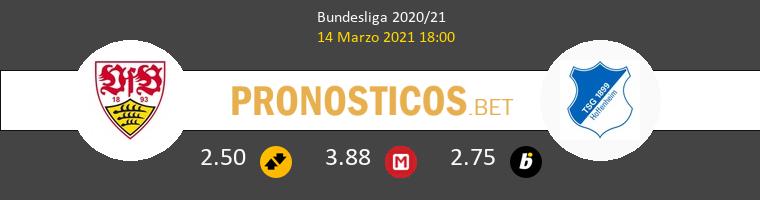 Stuttgart vs Hoffenheim Pronostico (14 Mar 2021) 1