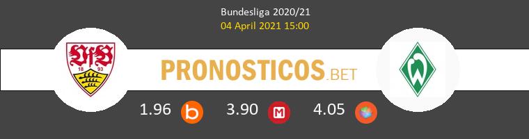 Stuttgart vs Werder Bremen Pronostico (4 Abr 2021) 1