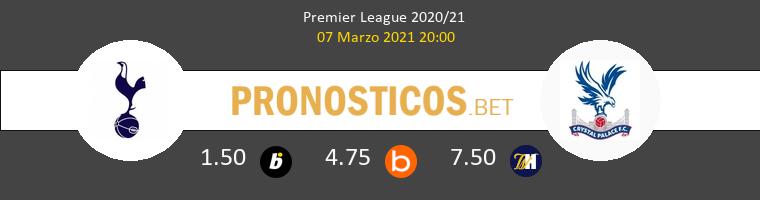 Tottenham Hotspur vs Crystal Palace Pronostico (7 Mar 2021) 1