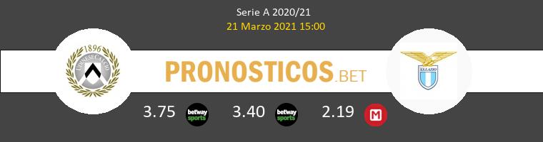 Udinese vs Lazio Pronostico (21 Mar 2021) 1