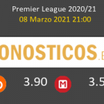 West Ham vs Leeds United Pronostico (8 Mar 2021) 2