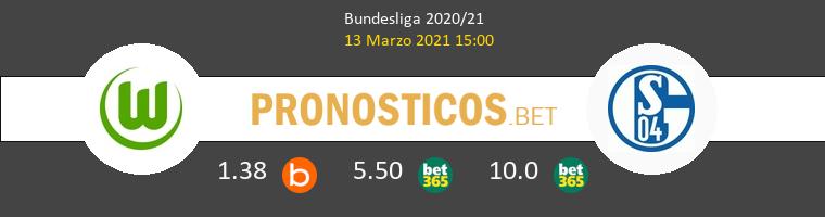 Wolfsburg vs Schalke 04 Pronostico (13 Mar 2021) 1