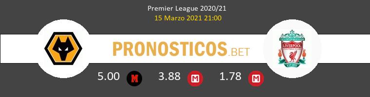 Wolverhampton Wanderers vs Liverpool Pronostico (15 Mar 2021) 1