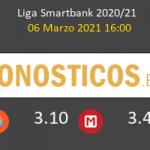 Zaragoza vs Tenerife Pronostico (6 Mar 2021) 5