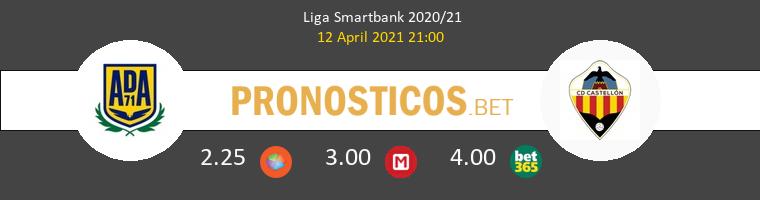 Alcorcón vs CD Castellón Pronostico (12 Abr 2021) 1