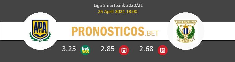 Alcorcón vs Leganés Pronostico (25 Abr 2021) 1