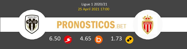 Angers SCO vs Monaco Pronostico (25 Abr 2021) 1