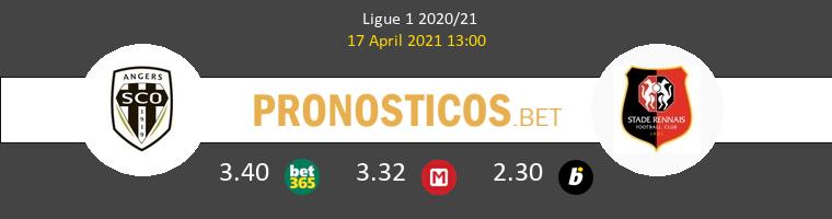 Angers SCO vs Stade Rennais Pronostico (17 Abr 2021) 1
