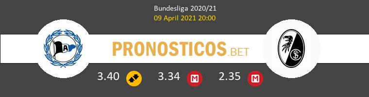 Arminia Bielefeld vs SC Freiburg Pronostico (9 Abr 2021) 1