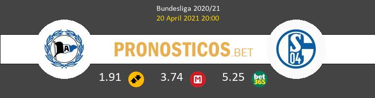 Arminia Bielefeld vs Schalke 04 Pronostico (20 Abr 2021) 1