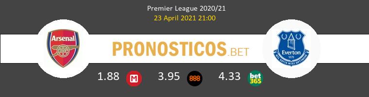 Arsenal vs Everton Pronostico (23 Abr 2021) 1