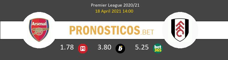 Arsenal vs Fulham Pronostico (18 Abr 2021) 1