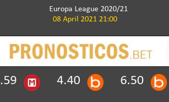 Arsenal vs Slavia Praha Pronostico (8 Abr 2021) 2