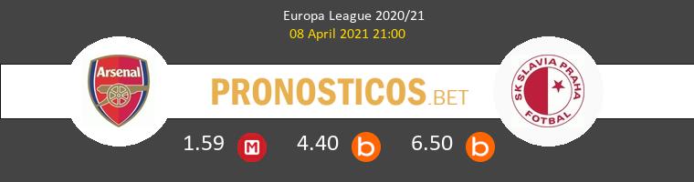 Arsenal vs Slavia Praha Pronostico (8 Abr 2021) 1