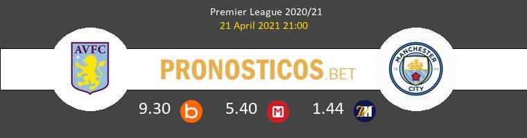 Aston Villa vs Manchester City Pronostico (21 Abr 2021) 1