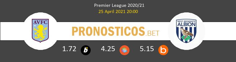 Aston Villa vs West Bromwich Albion Pronostico (25 Abr 2021) 1