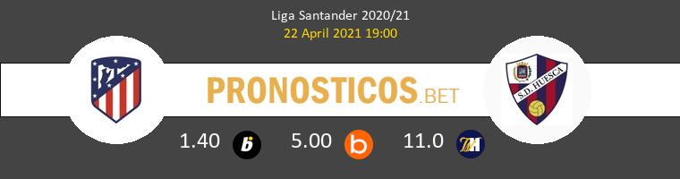 Atlético vs Huesca Pronostico (22 Abr 2021) 1