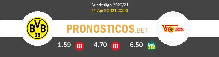 Borussia vs Union Berlin Pronostico (21 Abr 2021) 1