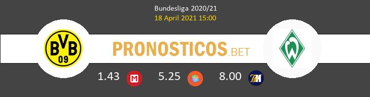 Dortmund vs Werder Bremen Pronostico (18 Abr 2021) 1