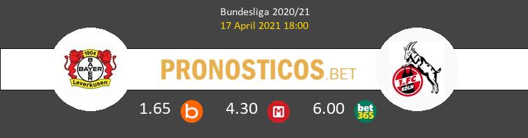 Leverkusen vs Colonia Pronostico (17 Abr 2021) 1