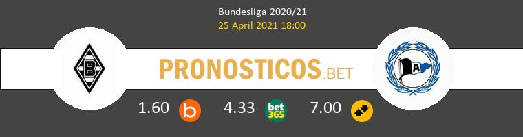 B. Mönchengladbach vs Arminia Bielefeld Pronostico (25 Abr 2021) 1