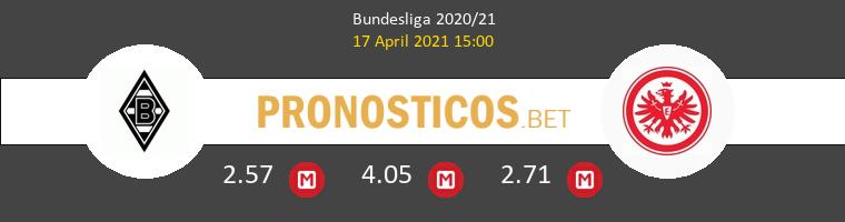 B. Mönchengladbach vs Eintracht Frankfurt Pronostico (17 Abr 2021) 1