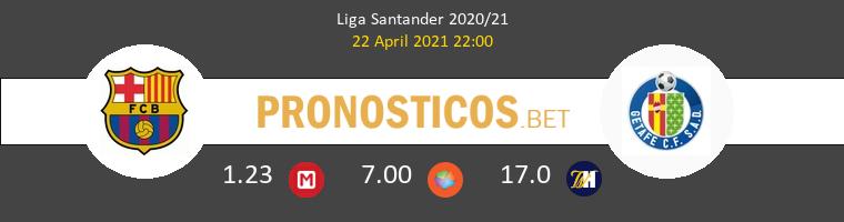 Barcelona vs Getafe Pronostico (22 Abr 2021) 1
