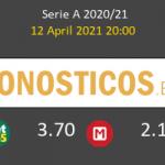 Benevento vs Sassuolo Pronostico (12 Abr 2021) 2