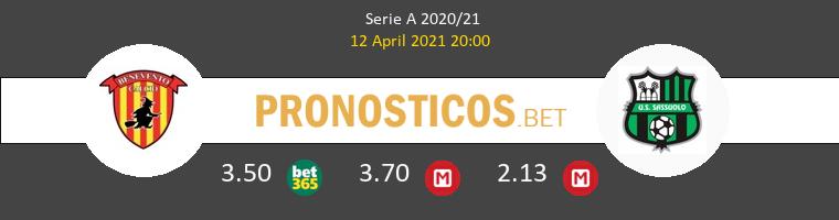 Benevento vs Sassuolo Pronostico (12 Abr 2021) 1