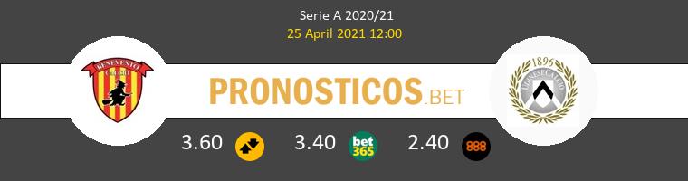 Benevento vs Udinese Pronostico (25 Abr 2021) 1