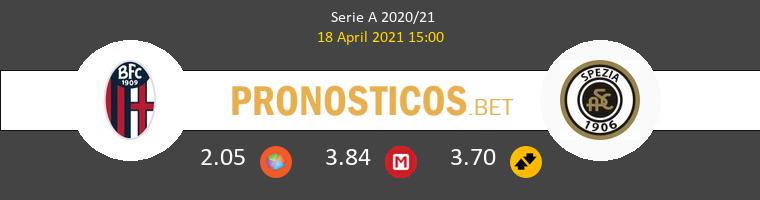 Bologna vs Spezia Pronostico (18 Abr 2021) 1