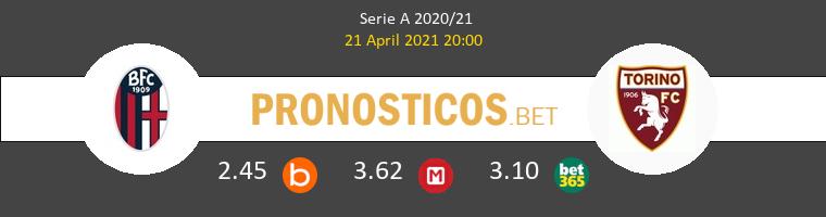 Bologna vs Torino Pronostico (21 Abr 2021) 1