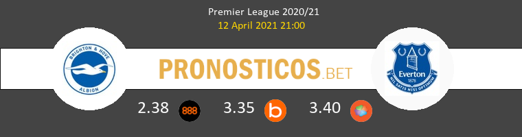 Brighton vs Everton Pronostico (12 Abr 2021) 1