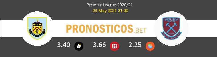 Burnley vs West Ham Pronostico (3 May 2021) 1