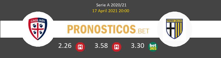 Cagliari vs Parma Pronostico (17 Abr 2021) 1