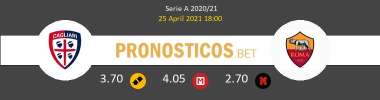 Cagliari vs Roma Pronostico (25 Abr 2021) 1