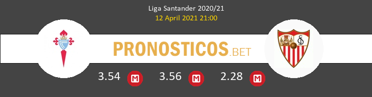 Celta vs Sevilla Pronostico (12 Abr 2021) 1