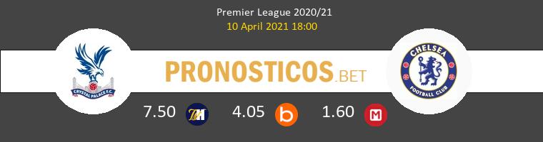 Crystal Palace vs Chelsea Pronostico (10 Abr 2021) 1
