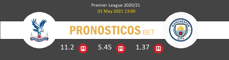 Crystal Palace vs Manchester City Pronostico (1 May 2021) 1
