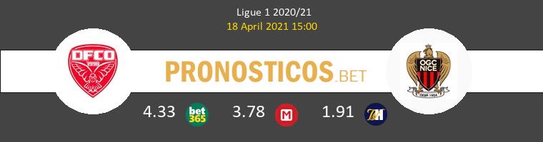 Dijon FCO vs Nice Pronostico (18 Abr 2021) 1