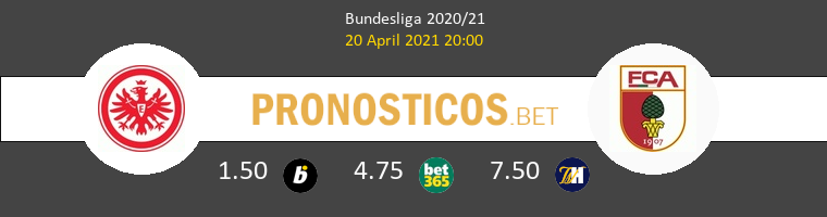 Eintracht Frankfurt vs FC Augsburg Pronostico (20 Abr 2021) 1