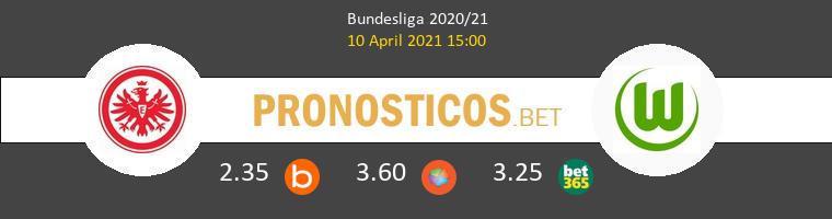 Eintracht Frankfurt vs Wolfsburg Pronostico (10 Abr 2021) 1