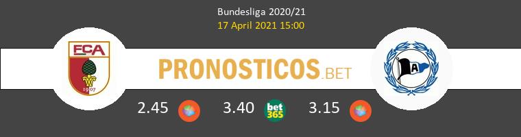 FC Augsburg vs Arminia Bielefeld Pronostico (17 Abr 2021) 1