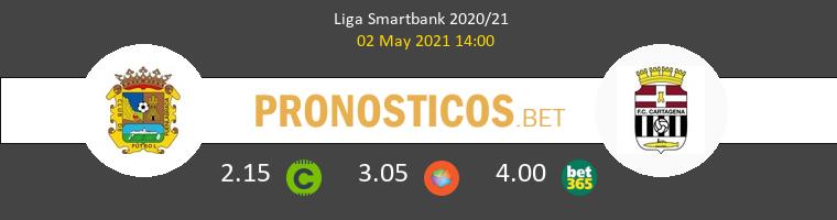Fuenlabrada vs F.C. Cartagena Pronostico (2 May 2021) 1