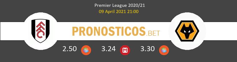 Fulham vs Wolverhampton Wanderers Pronostico (9 Abr 2021) 1